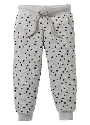 Спортивные штаны, брюки lupilu, лупилу, с начесом