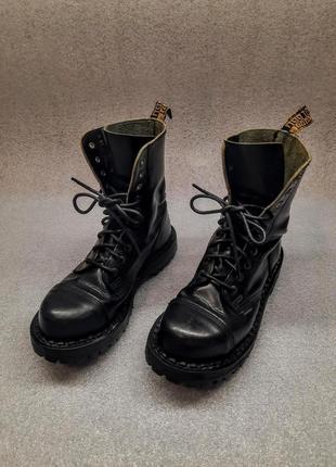 Грубые ботинки steel кожаные берцы стилы