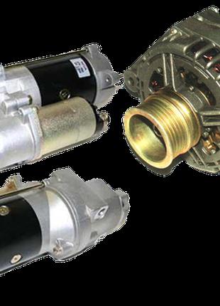 Стартеры и генераторы для спецтехники