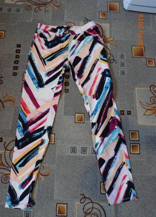 Цветные джинсы для яркой девушки