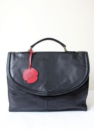 Женский кожаный портфель.