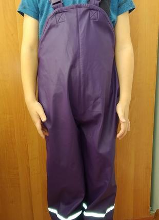 Непромокаемый полукомбинезон , штаны для дождя, дождевик