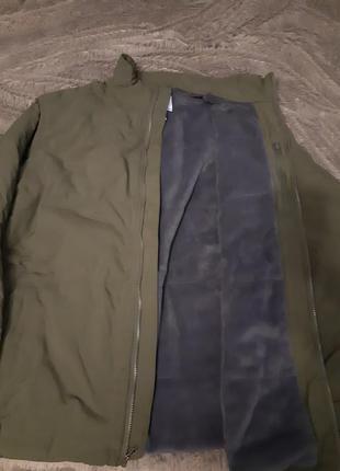 Мужская куртка на флисе columbia xl tall
