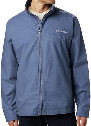 Хлопковая куртка ветровка columbia 1x