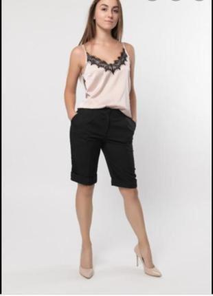 Укороченное классические брюки шорты m&s