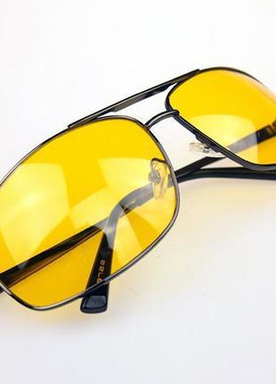 Очки для дальнобойщика водителей ночного вождения антиблик