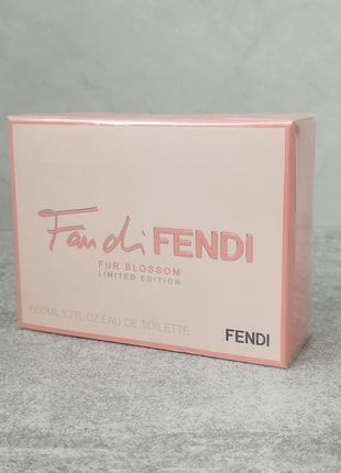 Fendi Fan Di Fendi Fur Blossom 50 мл для женщин (оригинал)