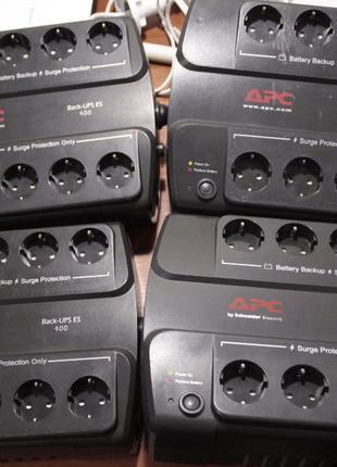 ИБП APC Back-UPS ES 400VA 240W BE400-RS Без аккумуляторной бат...