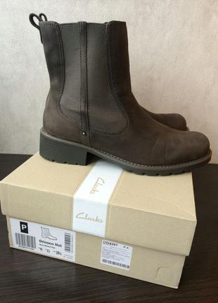Женские демисезонные ботинки Clarks