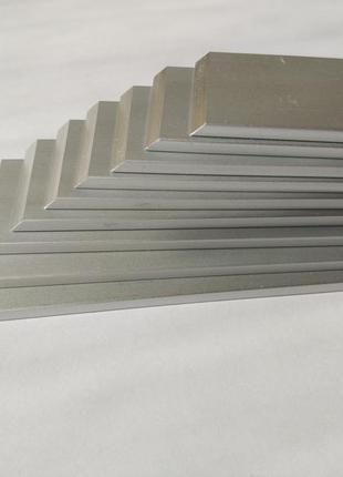 Бланк алюминиевый анодированный 161х25х3х45 для точилок типа Арех