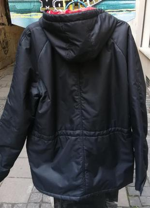 Куртка парка зима pitt черная пуховик