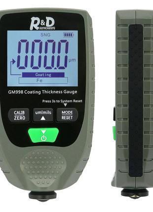 Толщиномер, товщиномір локафарбового покриття GM998