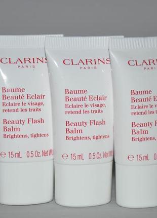 Восстанавливающий бальзам для лица clarins beauty flash balm ...