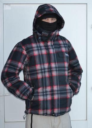 Мужская горнолыжная (cноубордическая) куртка quiksilver (разме...