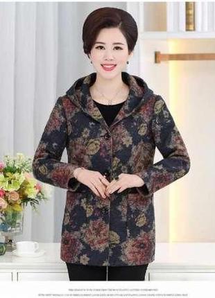 Женское пальто демисезонное 52-54 размер