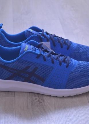 Asics кроссовки мужские синие сетка оригинал осень