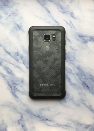 Samsung Galaxy s7 Active 32Gb SM-G891A Camo Green (#1802)