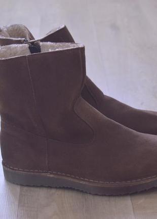 Cotton traders мужские замшевые ботинки зима