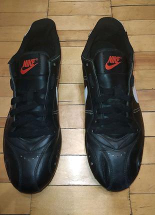 Шкіряні кеди Nike