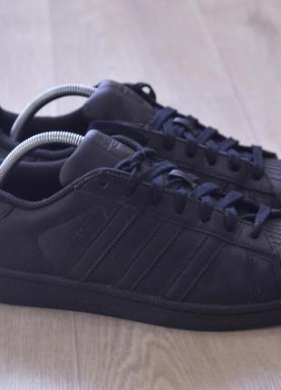 Adidas super star мужские кроссовки кожа оригинал осень