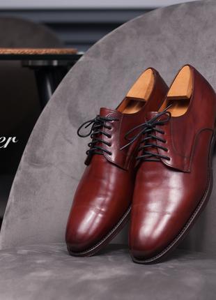 Дерби премиум класса Cordwainer, Испания 42,5-43 туфли мужские ко