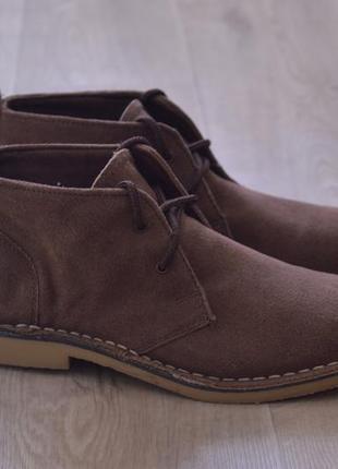 Easy мужские туфли ботинки дезерты замша оригинал осень