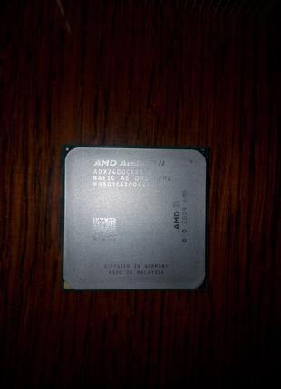 AMD Athlon II X2 240 65W сокет AM3 + кулер