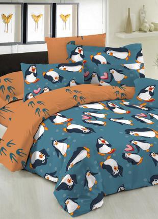 Постельное белье бязь Пингвины