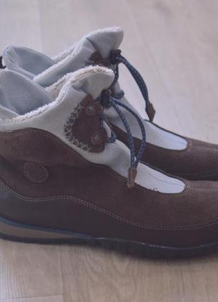 Женские зимние ботинки timberland замша оригинал зима