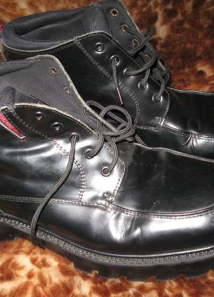 Кожаные ботинки Dockers 43р