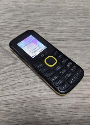 Мобильный телефон Nomi i184 Black-Yellow (dual sim)