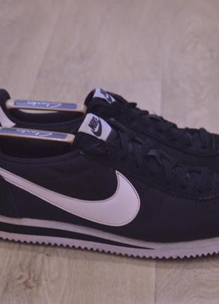 Nike cortez мужские кроссовки черные оригинал осень