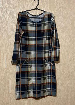 Платье теплое на 46 размер