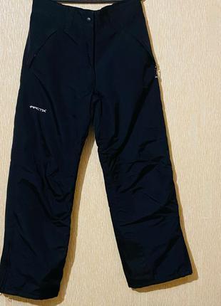 Лыжные утеплённые штаны размер 44-46