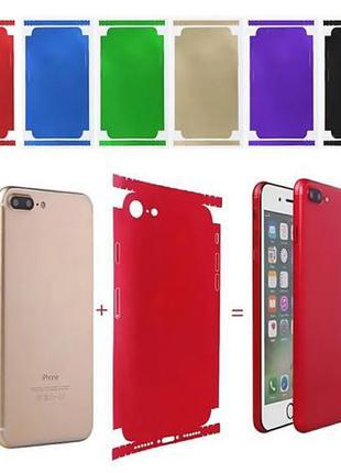 Наклейка скин IPhone 5, 5s, 5c, 6, 6s, 7, 7 Plus,8+Пленка Чехол В