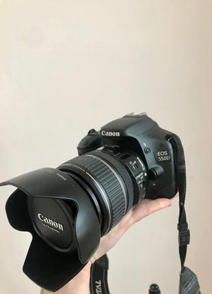 Canon 550d + Об'єктив EFS 17-85/4-5.6 IS USM + Комплект + Рюкзак