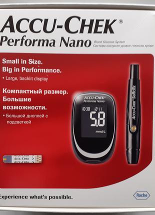 Глюкометр Accu-Chek Performa Nano / Акку-Чек Перформа Нано