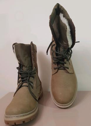 НОВЫЕ Мужские ботинки теплые на меху! Хорошего качества! Примерка