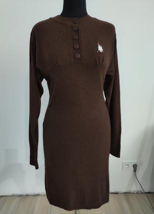 Платье туника шерсть S Polo Ralph Lauren