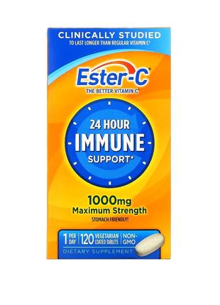 Ester-C, 1000мг, 120вегетарианских таблеток в оболочке