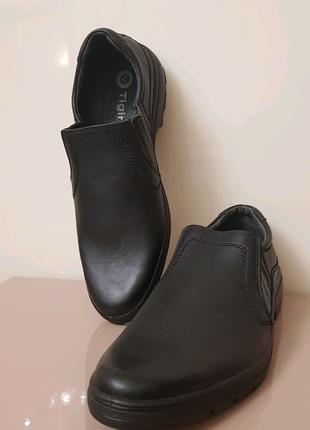 Туфли кожаные Тигина 45 размер. Примерка возможна в Одессе!