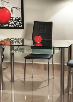 Стол стеклянный Hektor стол кухонный