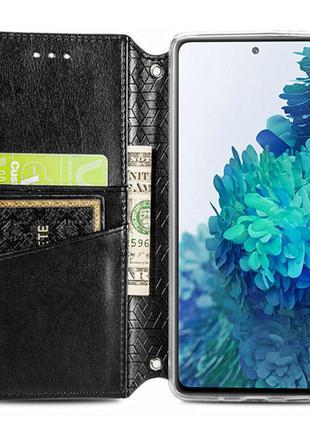Кожаный чехол книжка для ZTE Blade A7 Fingerprint