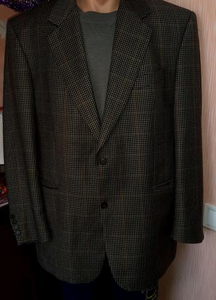 Пиджак шерстяной
