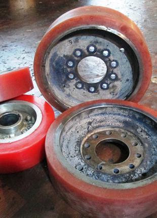 Гуммирование роликов, валов, колес (нанесение полиуретана)