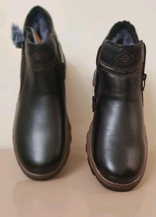 Продам новые мужские ботинки! Кожаные на меху. В наличии в Одессе