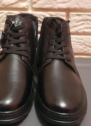 НОВЫЕ Ботинки кожаные мужские на меху! В наличии в Одессе!