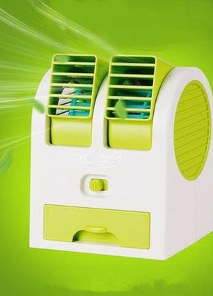 Мини кондиционер Conditioning Air Cooler USB Electric mini Fan