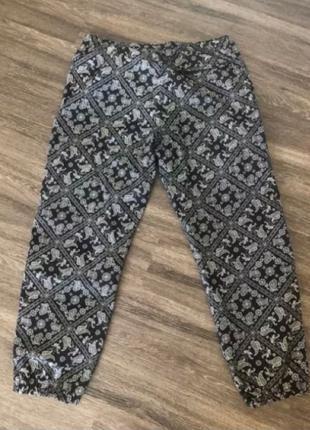 Black bandana track pants