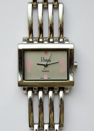 Vivani часы из сша стальной браслет мех.japan sii